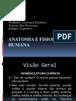 Aula 01 Anatomia e Fisiologia Humana