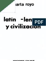 Royo Marta - Latin Lengua Y Civilizacion