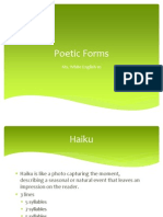 english 10 poetic forms