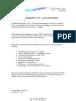 Understanding ISO 22301 a Practical Guide
