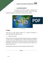 LA GLOBALIZACION Ventajas y Desventajas
