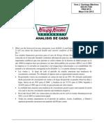 Analisis de Caso Krispi Kreme - Vera Santiago