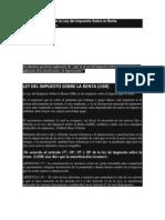 17º, 18º, 19º y 20º de la ley de impuesto sobre la renta  (LISR)