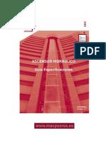 Guía Especificaciones Ascensor Hidráulico