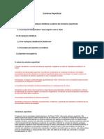 Estrutura Superficial 3. Estrutura Superficial 3.1. a ImportâNcia Das