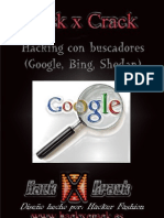 Hack x Crack Hacking Buscadores
