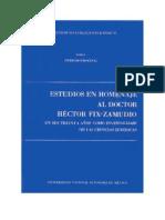 Estudios en Homenaje Al Doctor Hector Fix Zamudio - Tomo i