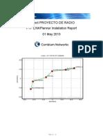 Project PROYECTO de RADIO Installation Report