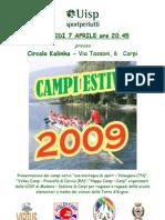 Presentazione Stage 2009 2