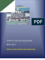 DMC CLASS OF 1985 DIGITAL MAGAZINE, MAY 2013
