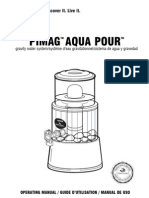 PiMag Aqua Pour gravity water system/syst