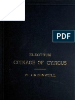 The Electrum Coinage of Cyzicus - Greenwell, William, 1820-1918
