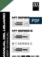 manual de potencias de amplificación de sonido zkx argentina