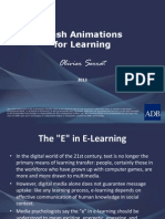 Flash Animations for Learning