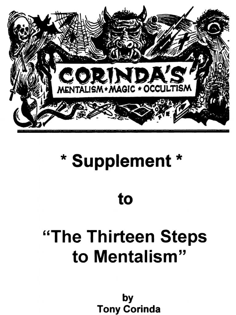 13 STEPS TO MENTALISM FILETYPE PDF
