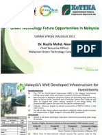 Green Technology Future Opportunities in Malaysia