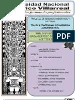 Aceites, Cueros y Pieles-Analisis(Unfv)