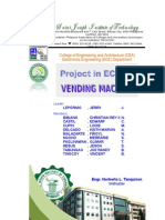 Ece 10 Documentation (Vending Machine)