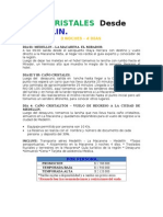CA�O CRISTALES  Desde  MEDELLIN.doc
