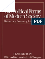 LEFORT Modern Forms of Political Society