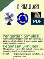 Materi Kuliah Teknik Simulasi