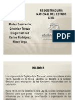 Registraduria General de La Nacion