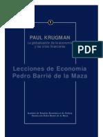 Krugman Paul La Globalizacion de La Economia y Las Crisis Financier As