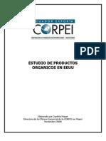 Estudio de Corpei de Alimentos Organicos en Eeuu