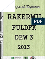 Proposal Delegasi Rakerwil Yarsi 2013 Fuldfk Dew 3