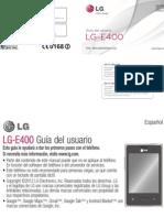 Manual Lg e400