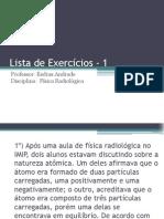 Cópia de Lista de Exercícios - 1