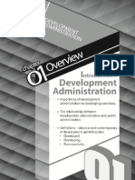 1.Introduction to Development Administration