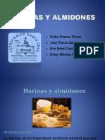 Harinas y Almidones[1]