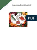 Trabajo Sobre Alimentos Transgenicos