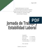 Trabajo de Estabilidad Laboral