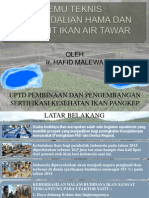 Temu Teknis Hama Dan Penyakit Ikan Air Tawar Kabupaten Soppeng