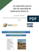 2 Ejercicios Especiales Para El Desarrollo de Velocidad