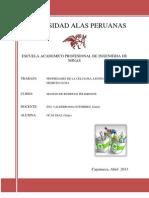 Propiedades de La Lignina, Celulosay Hemicelulosa