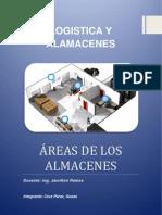 ÁREAS DE LOS ALMACENES