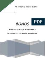 Mercado de Capitales y Bonos