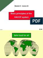 Basic Principles of HACCP (a)
