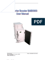 Bravo Tech BMB0900 Booster User Manual