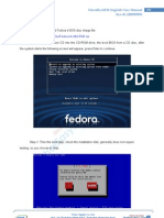 Chapter 5.1 - Install Fedora 9