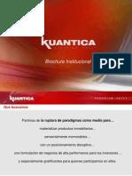Brochure Institucional Kuantica 5-09