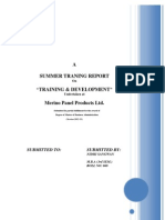 Training & Development in an organization
