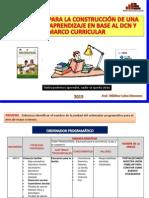 Construccion Unidad de Aprendizaje Mayo 2013 - Rutas de Aprendizaje