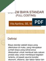 Sistem Biaya Standar