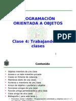 Unidad IV - Clase 4 - Trabajando Con Clases