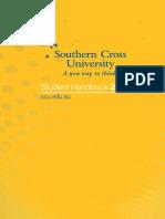 SCU Student Handbook 2012 (Addendum Feb 17, 2012)