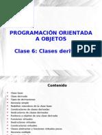 Unidad VI - Clase 6 - Clases Derivadas 2012